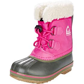Sorel Kids Yoot Pack Nylon Boots Ultra Pink/Alpine Tundra